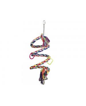 играчка за голям папагал 225 см- NOBBY Schaukel Spirale