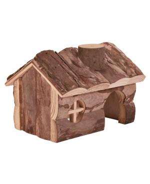 къща дървена  за хамстер Trixie Германия 13x11x9 см.