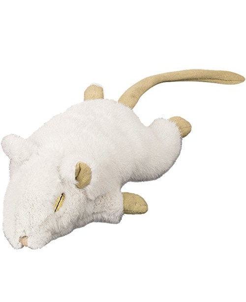 Плюшена мишка с привличаща билка - NOBBY Германия -  14 см - светло кафява