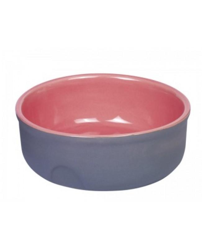 керамична купичка Nobby Германия -13х5см. розово - Кучета