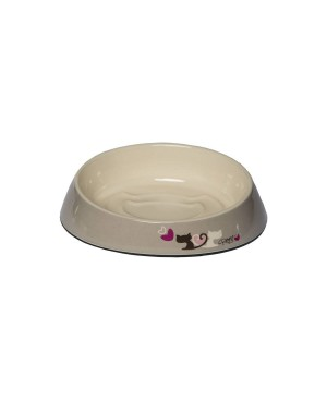 купа от меламин за коте - Rogz Fishcake Heart Tails - Аксесоари за котки