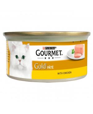 GOURMET GOLD - консерва за котка пастет с пиле 85гр. -24бр.