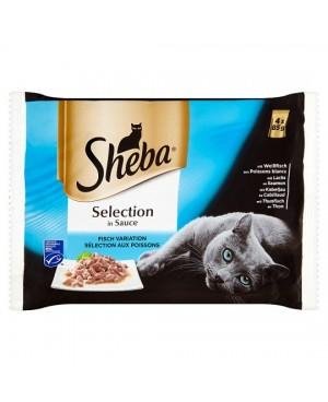 Sheba - pouch птичи ястия 4х85гр.