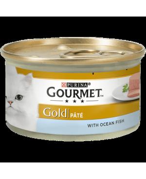 GOURMET GOLD - консерва за котка пастет с риба 85гр. -24бр.