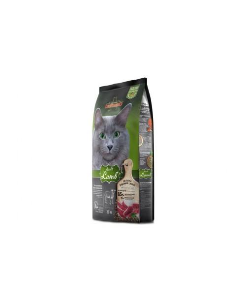 Суха храна за котки  Leonardo Аdult Sensitive Lamb - суха храна над 12 месеца с агнешко месо 7.5кг.