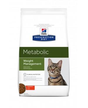 Суха храна за котки - Hill's Feline Metabolic - 1,5кг.-за намаляване на наднормено тегло