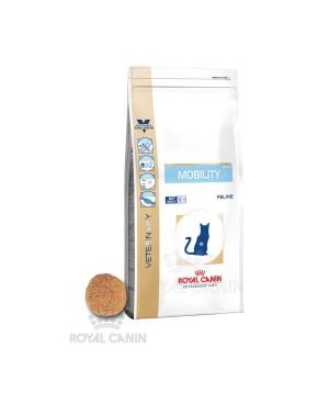 Суха храна за котки - Royal Canin Veterinary Diet Mobility Cat - специална храна за котки със ставни заболявания, подходяща и за прием преди и след операция на двигателния апарат - 2 кг - Котки