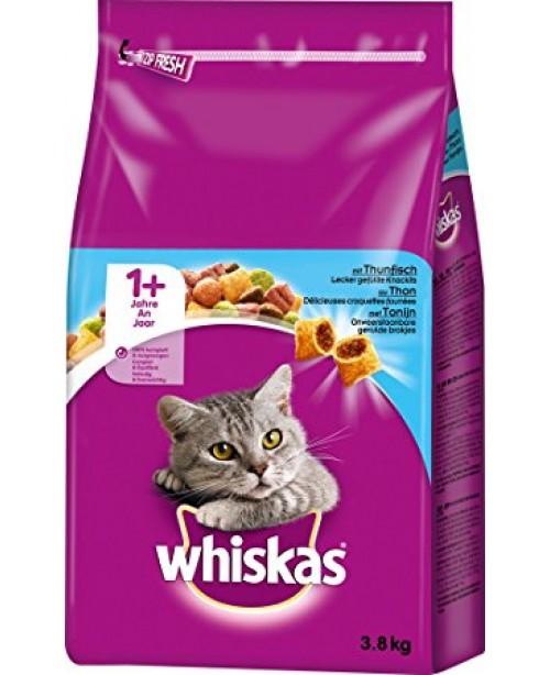 Суха храна за котки  Whiskas 1+ с риба тон 14кг.
