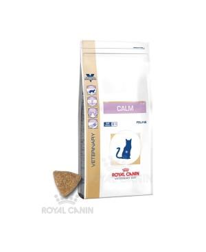 Суха храна за котки - Royal Canin Veterinary Diet - Calm Cat - предотвратява храносмилателни проблеми свързани със стрес - 4 кг - Котки