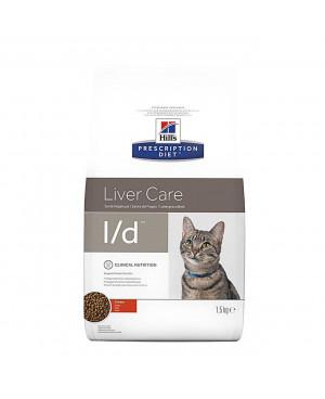 Суха храна за котки - HILL'S Feline l/d подпомага функционирането на черния дроб