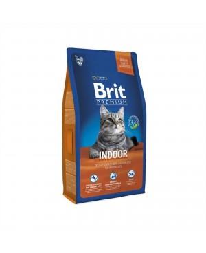 Суха храна за котки BRIT PREMIUM INDOOR 8 кг. - Суха храна