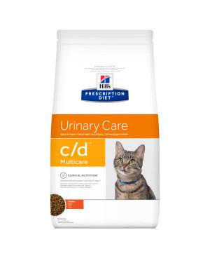 Суха храна за котки - HILL'S Feline Multicare пиле 1,5кг.- диета за котки с уролити