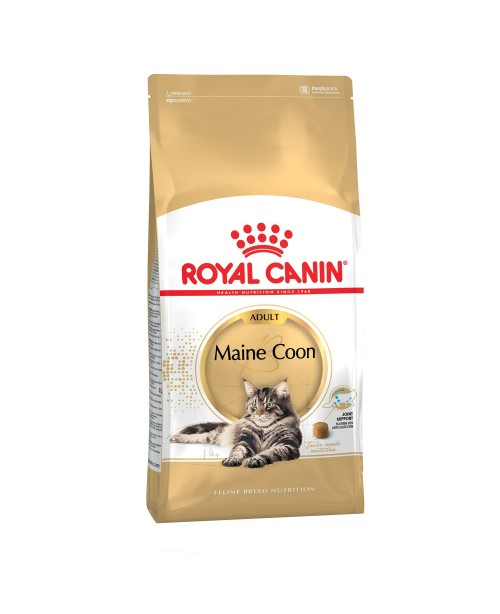 Суха храна за котки - Royal Canin Maine Coon Adult 4кг. - Суха храна за котки