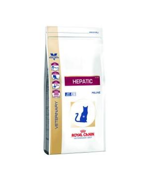 Суха храна за котки - Royal Canin Veterinary Diet Hepatic Cat - гарантира правилното функциониране на черния дроб в случай на болест или бъбречна недостатъчност - 4 кг - Котки