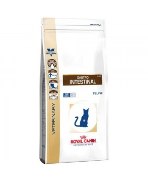 Суха храна за котки - 4 кг - Royal Canin Veterinary Diet Gastro Intestinal Cat - регулира стомашно-чревни нарушения при котките - Котки