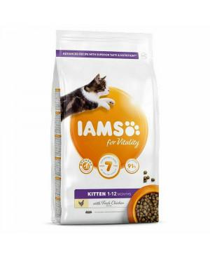IAMS Cat Kitten с пилешко - суха храна за малки котенца 10кг.