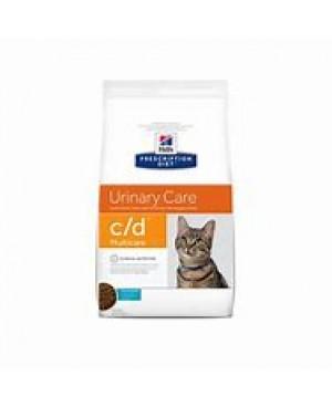 Суха храна за котки - Hill's Prescription Diet c/d Multicare Urinary Care 5кг.- поддържа здрави пикочните пътища