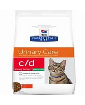 Суха храна за котки - HILL'S Feline c/d Urinary Stress Reduced Calorie 8кг.