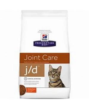 Суха храна за котки - HILL'S Feline j/d 2кг. - храна за котки с остеоартритни заболявания