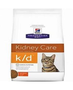Суха храна за котки - Hill's Feline k/d 1,5 кг. - за котки с хронична бъбречна недостатъчност