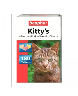 Витамини за котка - Beaphar Mix котешки микс  180 таб. - Котки