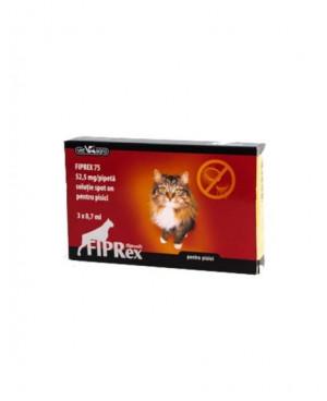Fiprex- препарат против бълхи и кърлежи за котки
