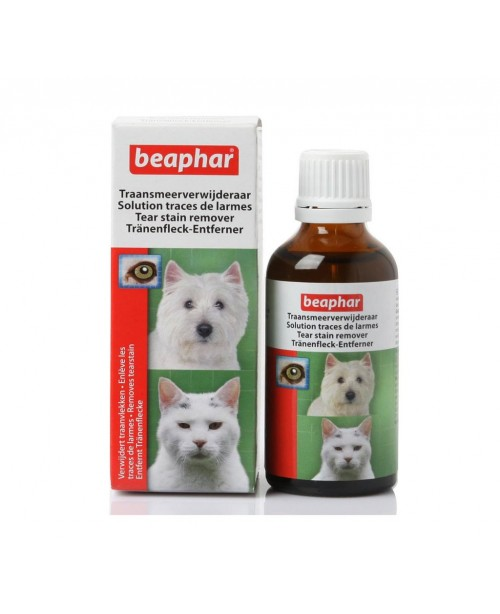 Препарат за почистване на козината до очите - Beaphar 50 мл