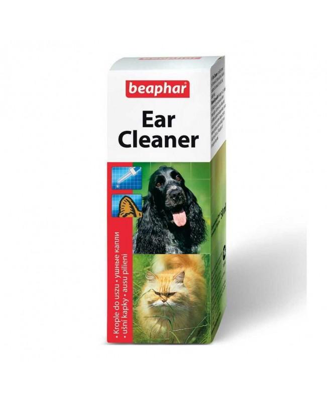 Препарат за почистване на уши - Beaphar Ear Cleaner 50мл - Кучета