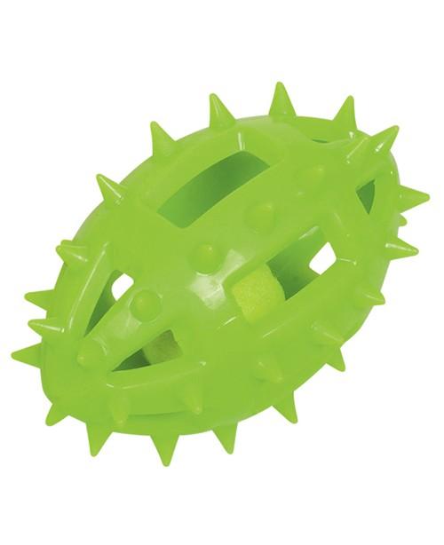 Играчка  ръгби с тенис топка 14.5 см - Кучета