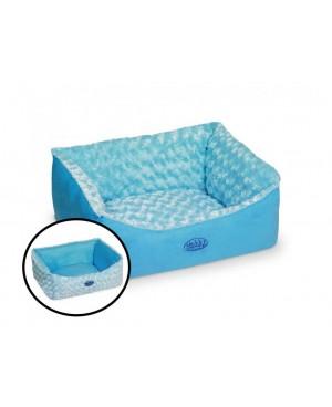 Легло за куче - ARUSHA синьо - NOBBY Германия -  45х40х18 см.