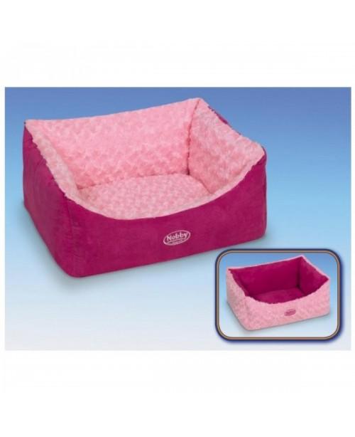 Легло за куче - ARUSHA розово - NOBBY Германия - 45х40х18 см.