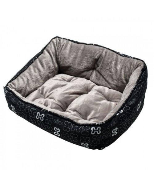 Легло за куче - TRENDY PODZ  BLACK BONES 43х30х19см. - Легла и постелки