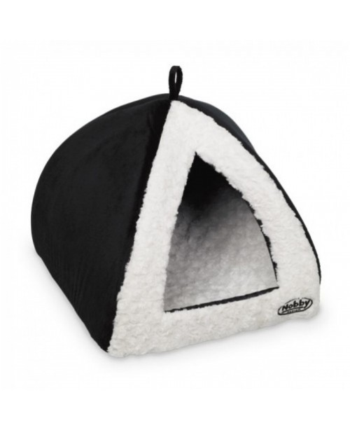 Легло за куче - свод ELUE черно / бяло - NOBBY Германия - 40х40х35 см. - Кучета