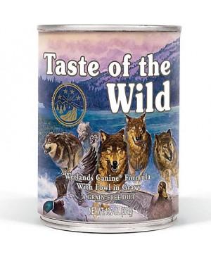 Консерва за куче -Taste Of The Wild с пиле,патица и пуйка  390гр.