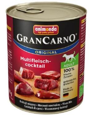 Консерва за куче  GranCarno  Adult - коктейл от различни видове месо 800гр.