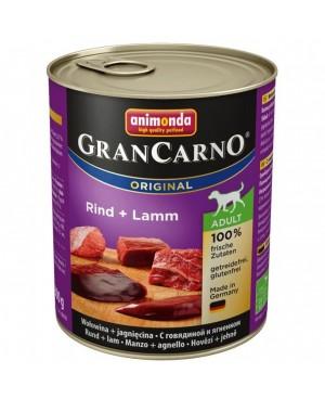 Консерва за кучета GranCarno - Говеждо и агнешко месо 800гр. - Кучета