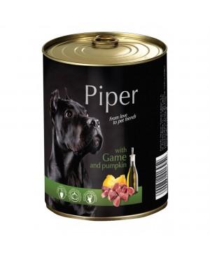 Консерва за кучета PIPER - Дивеч и тиква 800гр. - Кучета