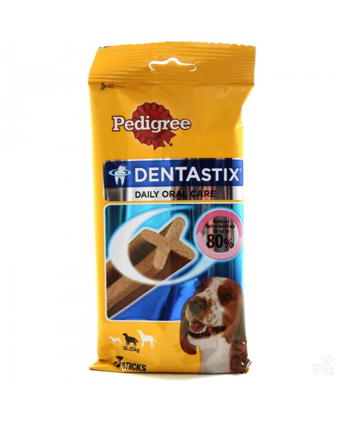 Лакомство за куче  Pedigree Dentastix Daily Oral Care 270гр.