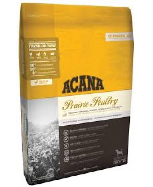 Суха храна за кучета  Acana Prairie с птиче месо 17кг.