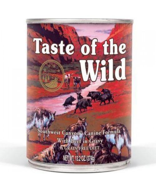 Консерва за куче -Taste Of The Wild с говеждо 390гр.