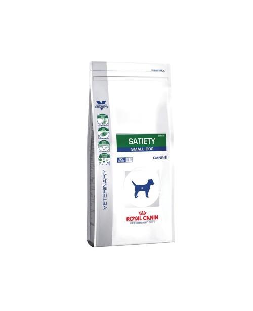 Суха храна за кучета - Royal Canin Veterinary Diet Canine Satiety Small Dog - за малки кучета до 10кг, които страдат от затлъстяване - 3 кг - Кучета