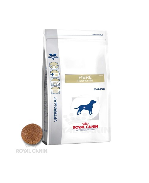 Суха храна за кучета - Royal Canin Veterinary Diet Fibre Response Dog - за лечение на пораснали кучета със стомашно-чревни заболявания - 7.5 кг - Кучета