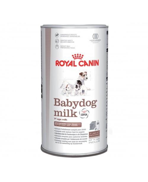 Храна за кучета - Royal Canin Babydog Milk - алтернативно витално сухо мляко за кученца от раждането до отбиването - 400 гр