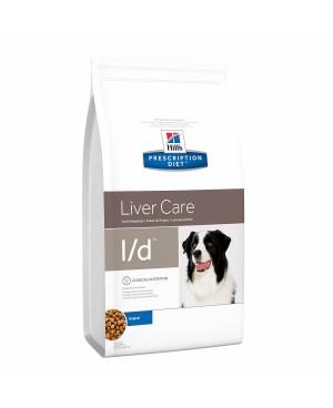 Суха храна за кучета - HILL'S Canine l/d 12кг.- за кучета с чернодробни заболявания