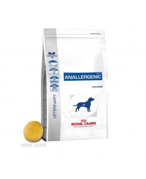 Суха храна за кучета 3 кг - Royal Canin Veterinary Diet Canine Anallergenic - храна за кучета за предотвратяване на хранителните алергии - Кучета