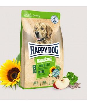 Happy Dog NaturCroq - суха храна за кучета  агнешко и ориз 15кг.