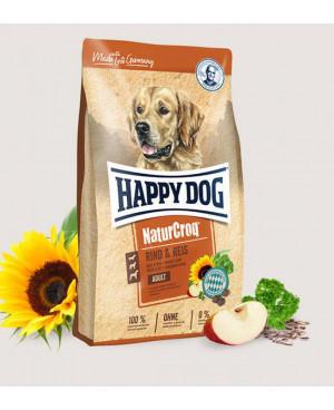 Happy Dog NaturCroq -суха храна за кучета говеждо и ориз 15кг.