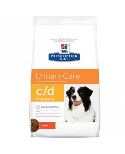 Суха храна за кучета - Hill's Prescription Diet c/d Multicare Urinary Care храна за кучета с пиле  - Кучета