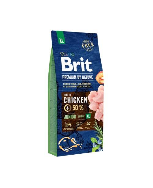 Суха храна за кучета BRIT PREMIUM JUNIOR XL 15кг. - Кучета