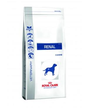 Суха храна за кучета - Royal Canin Veterinary Diet - Renal Dog - предназначена да подпомага диетичното лечение на хронични бъбречни заболявания при кучетата - 14 кг - Кучета